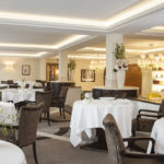 Hôtel Beau Rivage à Genève : restaurant Chat Botté