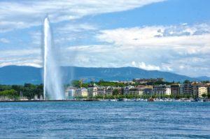 Illusionniste à Genève pour une marque de haute-couture