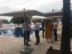 Magicien iPad à Genève pour une entreprise à l'Hôtel Président Wilson